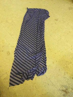 Sehr schöner gestreifter Schal in lila von der Narke Tom Tailor