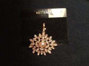 Brooch gold-colored-silver-colored