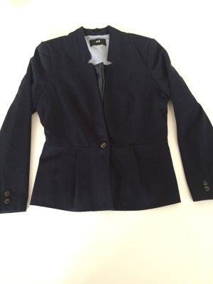 H&M Blazer corto blu scuro
