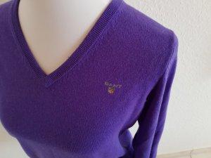 Sehr schöner neuwertiger wollPullover von Gant in Größe M lila