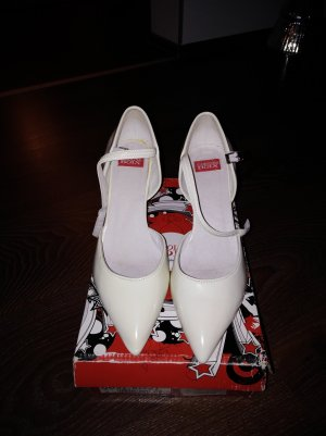Tacones Mary Jane blanco