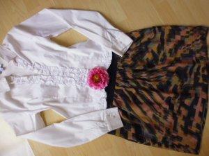 love21 Silk Skirt multicolored silk