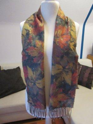 sehr schöner Schal in Herbst-Winterfarben