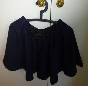 Falda azul oscuro