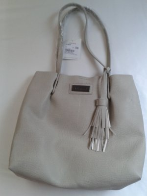 Gina Benotti Shopper light grey-nude imitation leather