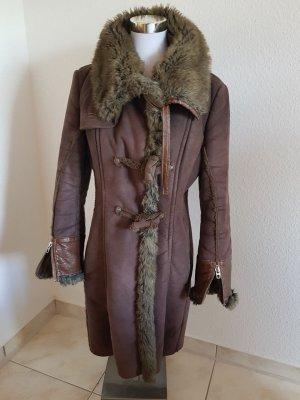 Sehr schöner und ausgefallener Mantel  von Miss Sixty Grosse M Braun