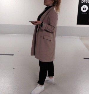 Sehr schöner Zara Mantel in altrosa