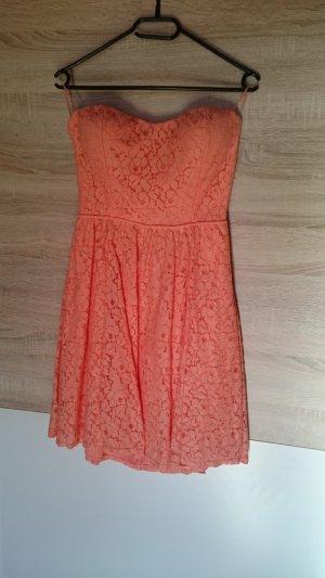 Tally Weijl Bandeau Dress orange