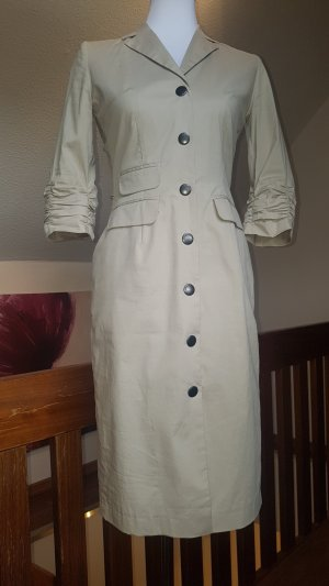 Simple Coat Dress beige