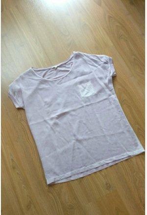 Sehr schönes Blusenshirt von Esprit,lila,neu, Gr. S