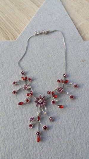sehr schönes Collier in rot letzte Preissenkung
