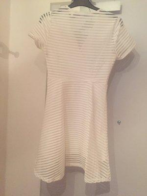 Vestido de manga corta blanco