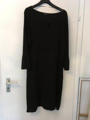 More & More Robe en maille tricotées noir coton