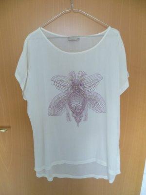 Camiseta estampada blanco puro Viscosa