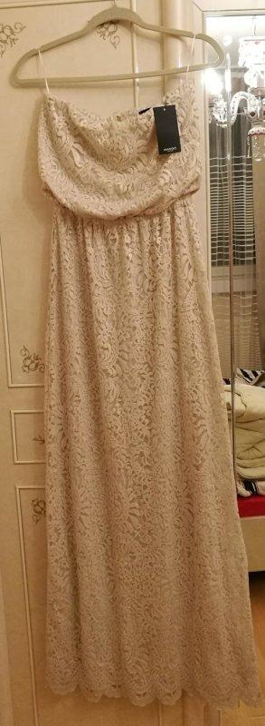 sehr schönes neues langes Kleid