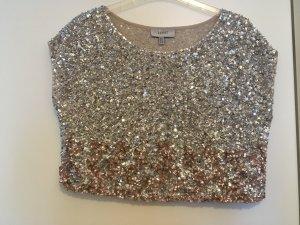 Coast Camiseta color plata Poliéster