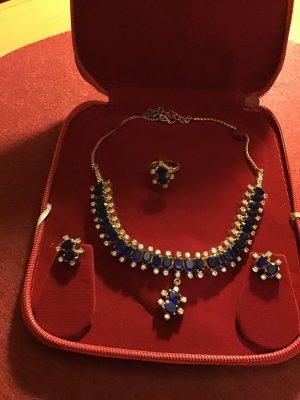 Collier blu-grigio chiaro