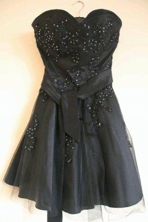 Sehr schönes schwarzes Kleid mit Pailletten