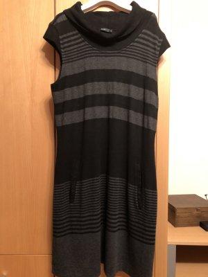 Sehr schönes Strickkleid von Zero - Gr. 44 - schwarz grau