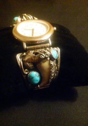 Sehr schone seltene  Uhr Silber 925..