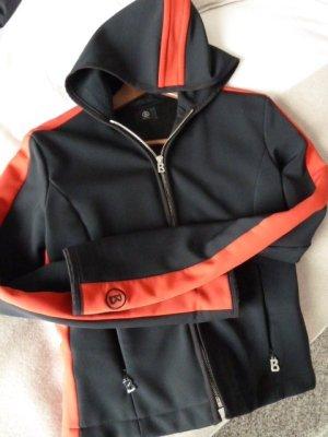 Sehr sportliche Bogner Jacke Farbe schwarz -rot Größe S