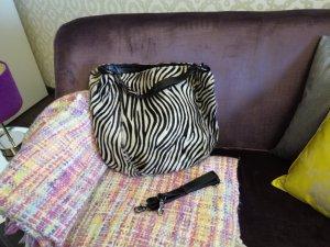 Sehr stylische Abro Handtasche im Zebralook
