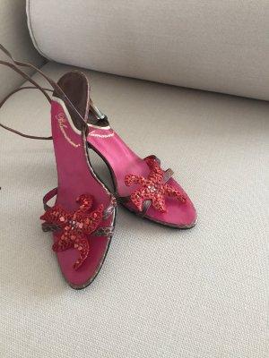 Sehr süße Blumarine Schuhe zum binden