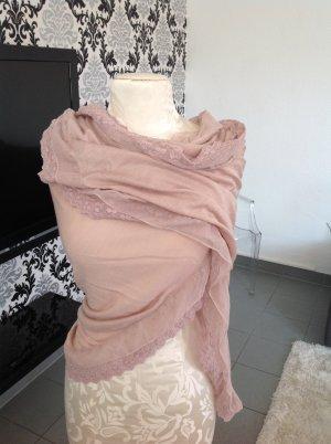 Sehr süße Schal in alt rosa