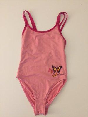 Sehr süßer Badeanzug Rosa mit Schmetterlingen Maui Wowie Gr 36 S wie neu!