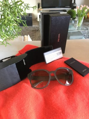 Prada Glasses grey synthetic material