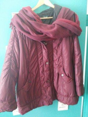 sehr warm Winter Jacke mit passenden Schall