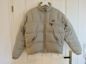 Down Jacket silver-colored-light grey