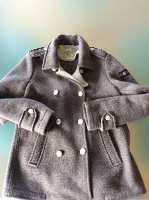 Gaastra Chaqueta de marinero marrón grisáceo lana de alpaca