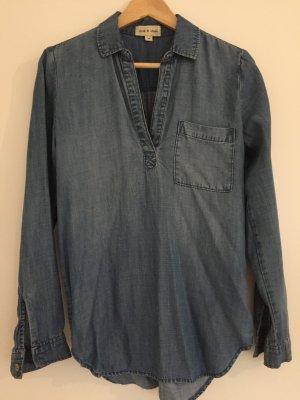 Sehr weiche Jeans Bluse von cloth & stone, Größe XS