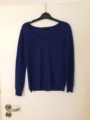 Sehr weicher Basic Pullover in blau