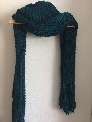 Zara Gebreide sjaal veelkleurig