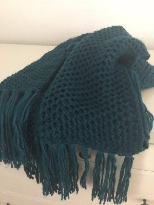 Zara Sciarpa lavorata a maglia multicolore