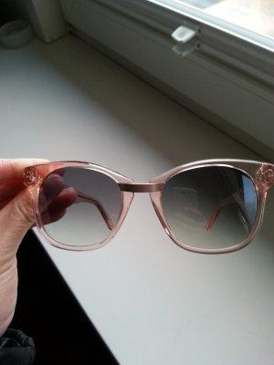 Andy Wolf Eyewear Lunettes de soleil or rose