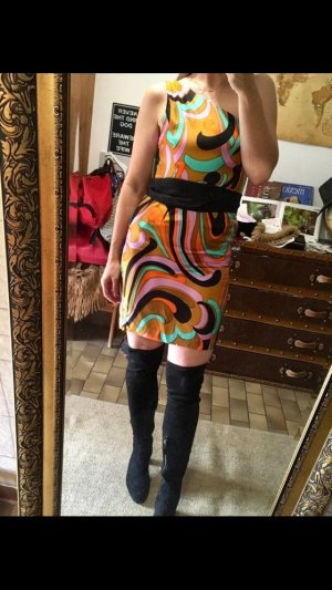One Shoulder Dress multicolored