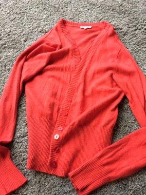 Shirt Jacket dark orange cashmere
