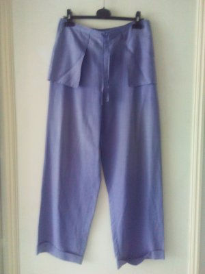 Marlene Trousers purple silk
