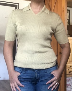 Repeat Short Sleeve Sweater olive green