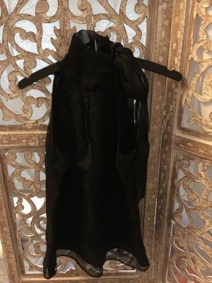 Zara Haut en soie noir soie