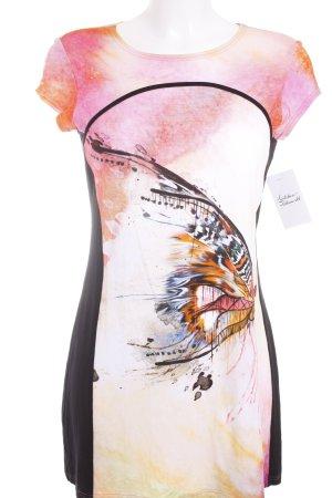 Seidel Longshirt abstraktes Muster Casual-Look