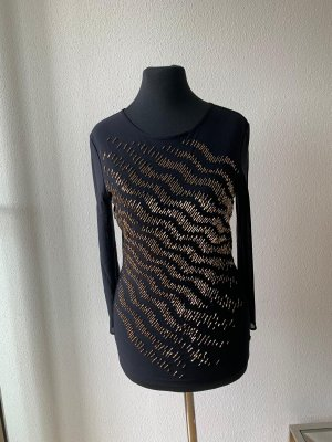 Escada Silk Top black-gold-colored