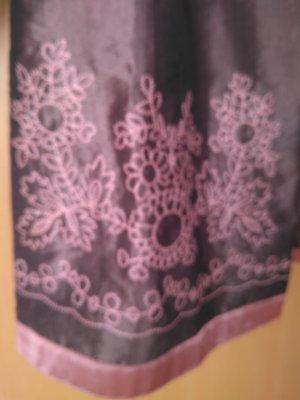 Blazer lungo color oro rosa-grigio-lilla Seta