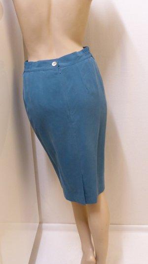 Madeleine Silk Skirt petrol silk