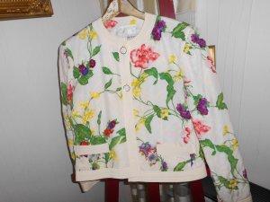 Antonette - Franz Haushofer Short Blazer multicolored silk