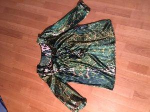 Madeleine Glanzende blouse veelkleurig