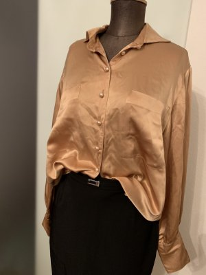 Strenesse Zijden blouse brons